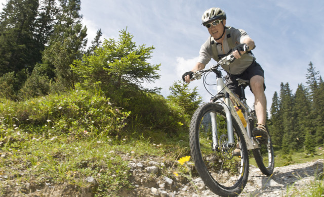 Mountainbiken im Thüringer Wald