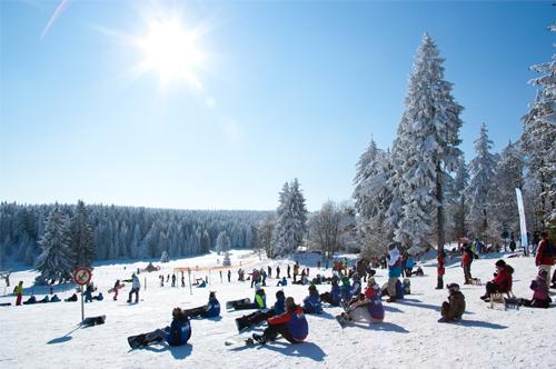 Winter in Oberhof